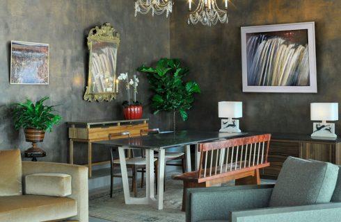 Chandalier Room Design