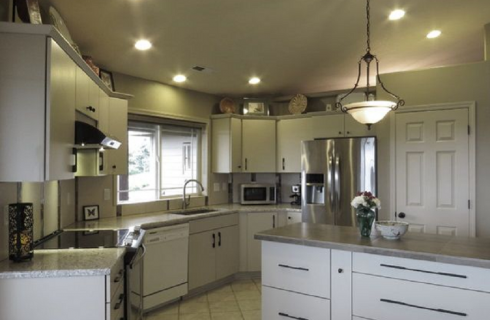 Kitchen Remodel and Redesigned Living