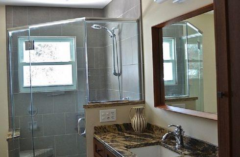Residence Master bathroom Interior Design
