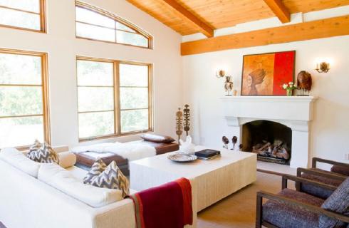 Residence Spanish Eclectic Santa Barbara Interior Design