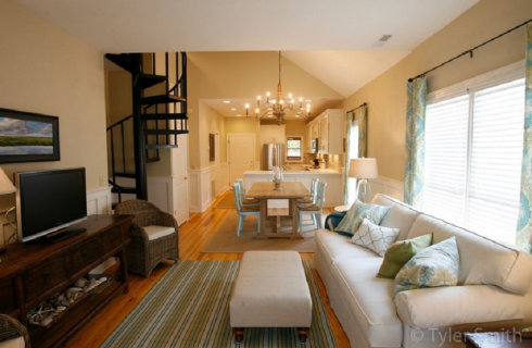 Residence Wild Dunes Beach Condo interior Design