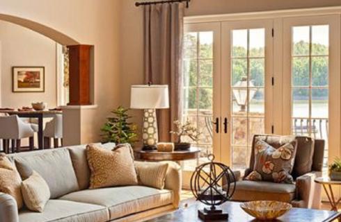 Doyle Residence Family Room Interior Design
