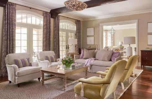 Residence Davidson Living Room Interior Design
